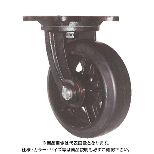 ヨドノ 鋳物重量用キャスター 許容荷重441 取付穴径15mm MHA-MG200X75