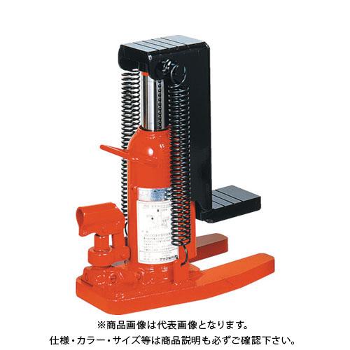 【運賃見積り】【直送品】マサダ 爪長形オイルジャッキ 6TON MHC-6SL-2