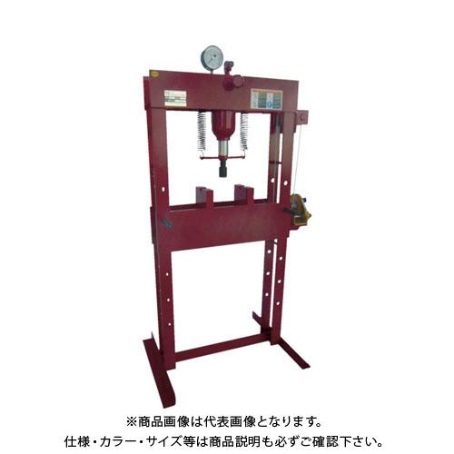 【運賃見積り】【直送品】マサダ 門型油圧プレス(手動タイプ) MHP-15W