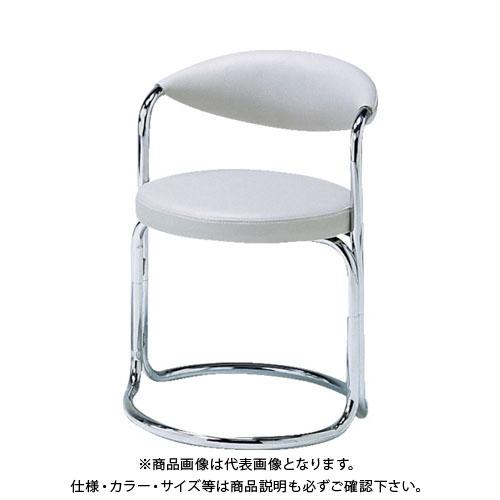 【直送品】 ミズノ 簡易応接セット用椅子(アイボリー) MK-717