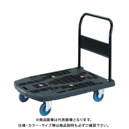 【個別送料2000円】【直送品】 TRUSCO カルティオビッグ 固定 900X600 S付 黒 MPK-900-BK-S