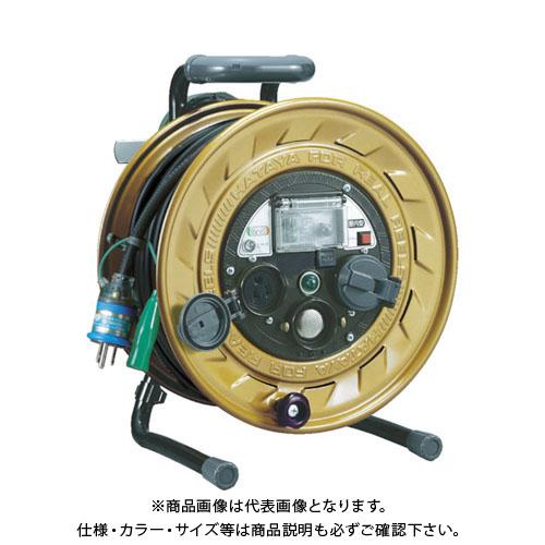 ハタヤ メタルセンサー(金属感知機能付)リール 単相100V接地付 30m MSB-301KX