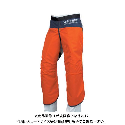 マックス Mr.FOREST 防護チャップス オレンジ Lサイズ MT536-OR-L