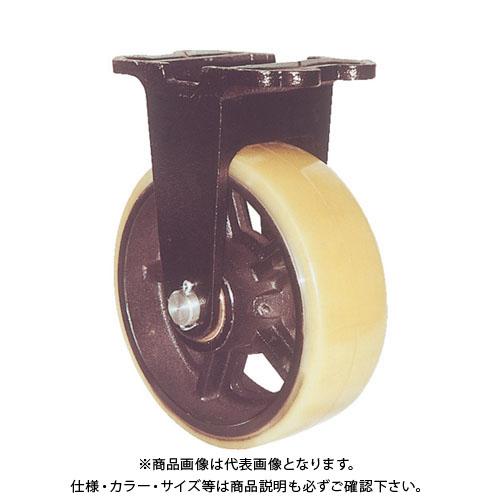 【個別送料1000円】【直送品】 ヨドノ 鋳物重量用キャスター 許容荷重1470 取付穴径18mm MUHA-MK300X100