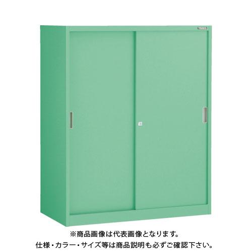 【運賃見積り】【直送品】 TRUSCO MU型保管庫 スチール引違 900X450XH1110ベース付 MUS-11B