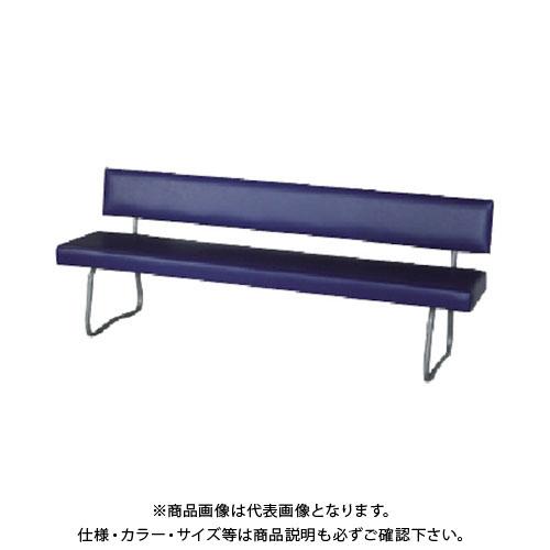 【直送品】 ミズノ ロビーチェア 背付き ブルー MWC-08A BL