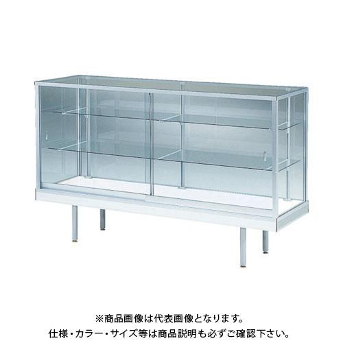 【運賃見積り】【直送品】 UACJ 平ケース(1500×600×917)シルバー N-520-SL