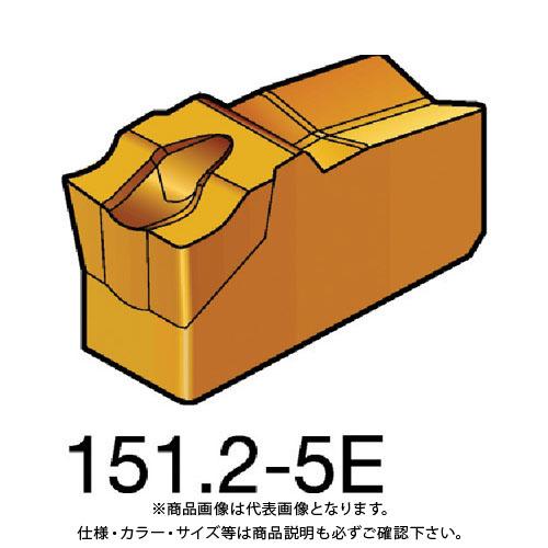 サンドビック N151.2-400-5E:1005 T-Max Q-カット 突切り・溝入れチップ 1005 10個 1005 COAT 10個 N151.2-400-5E:1005, 西米良村:5cccc865 --- sunward.msk.ru