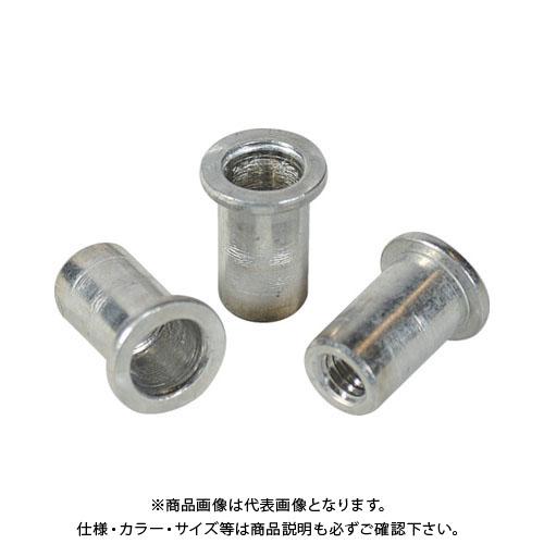 エビ ナット Dタイプ アルミニウム 6-3.5 (1000個入) NAD640M
