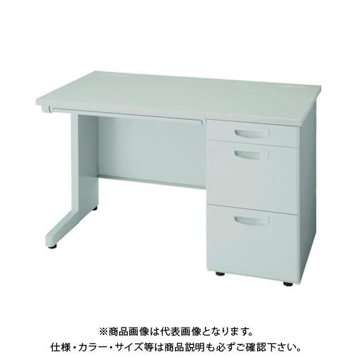 【運賃見積り】【直送品】 ナイキ 片袖デスク3段 NEDH127G-AWH