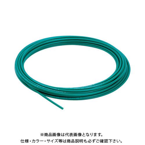 ピスコ ナイロンチューブ グリーン 8×6 100M NA0860-100-G