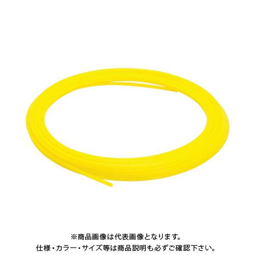 ピスコ ソフトナイロンチューブ イエロー 10×7.5 100M NB1075-100-Y