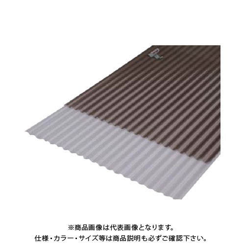 【直送品】IRIS 543952 ポリカ波板 ブロンズ 10枚 NIPC-607NJ-BRS