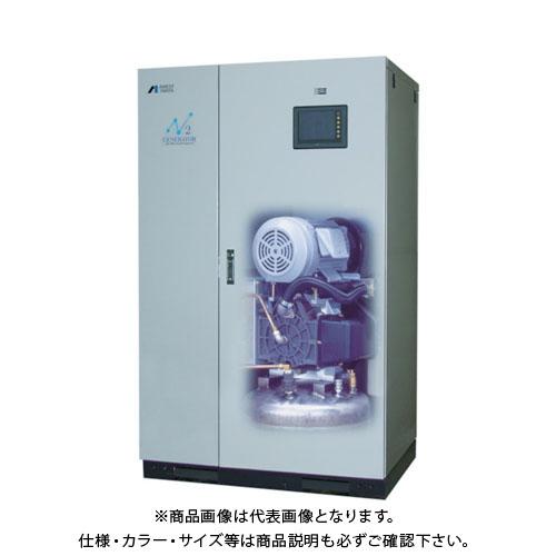 【直送品】アネスト岩田 窒素ガス発生装置(コンプレッサ内蔵型)60HZ NP-22BFM6