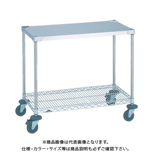 【個別送料2000円】【直送品】エレクター ステンレスワーキングカート一型 NSWT1C-S