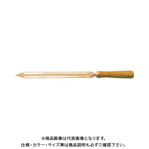 バーコ ノンスパーキング三平方スクレーパー NSB708-360