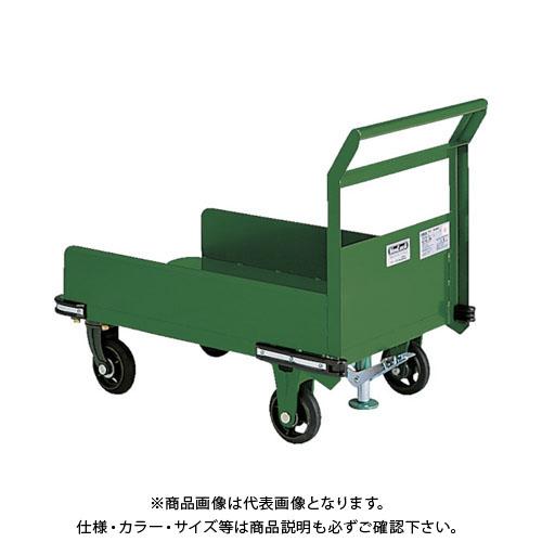 【直送品】TRUSCO 鋼鉄製運搬車 900X600 三面パネル S付 OHN-23PS