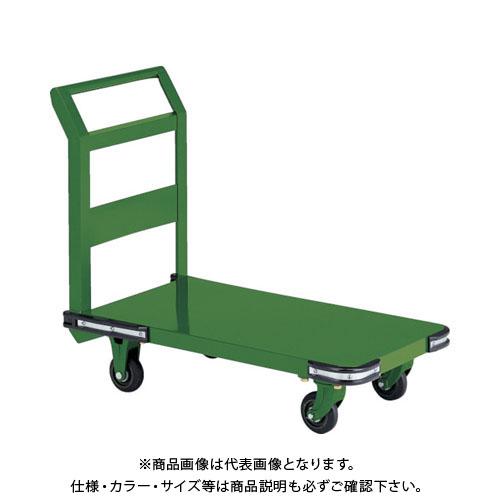 【直送品】TRUSCO 鋼鉄製運搬車 1400X750 Φ200鋳物車輪 OH-1L