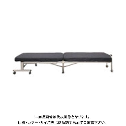 【直送品】IRIS 520276 ミニ折りたたみベッド ネイビー OTB-MN