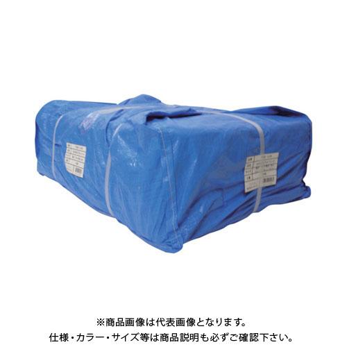 【運賃見積り】【直送品】ユタカ シート #3000ブルーシート大畳み 2.7m×3.6m (15枚入) PBZ-L05