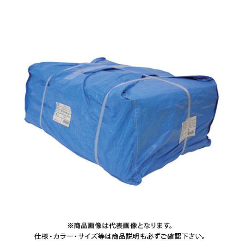 【運賃見積り】【直送品】ユタカ シート #3000ブルーシート大畳み 3.6m×5.4m (10枚入) PBZ-L11