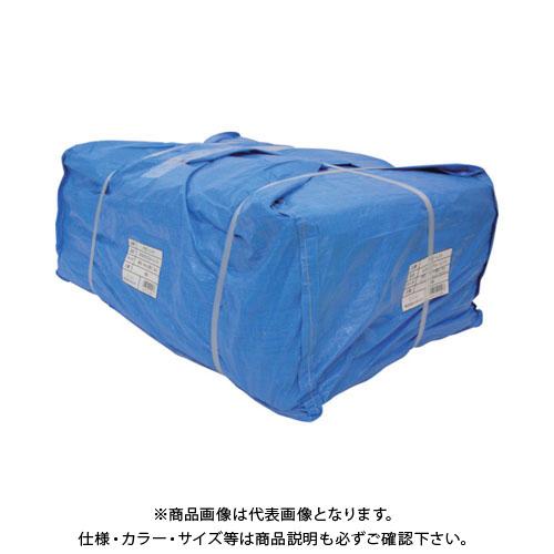 【運賃見積り】【直送品】ユタカ シート #3000ブルーシート大畳み 5.4m×7.2m (5枚入) PBZ-L14