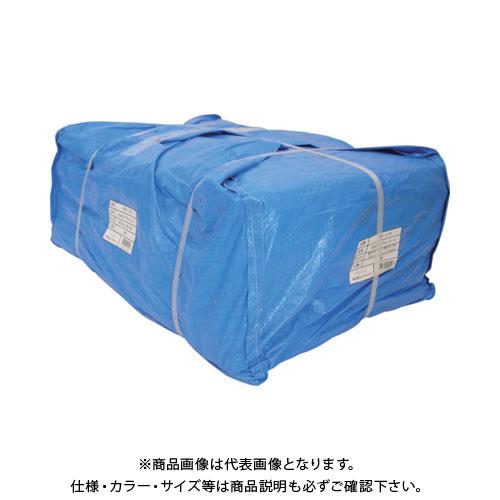 【運賃見積り】【直送品】ユタカ シート #3000ブルーシート大畳み 10.0m×10.0m (2枚入) PBZ-L18