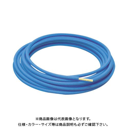 【運賃見積り】【直送品】クボタケミックス 保護材付ポリブデン管13X60M-5MM青 PB-13X60M-5B