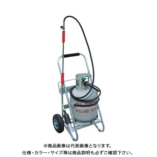 【直送品】HANTA プロパンボンベ台車付セット PC1