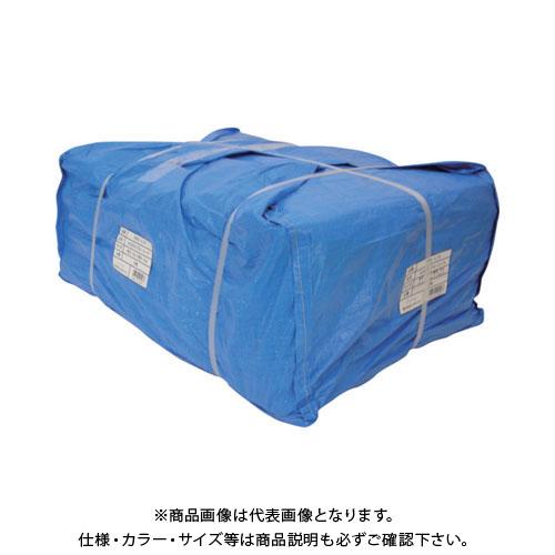 【運賃見積り】【直送品】ユタカ シート #3000ブルーシート大畳み 5.4m×5.4m (5枚入) PBZ-L13