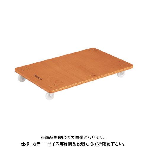 【運賃見積り】【直送品】TRUSCO 合板平台車プティカルゴ 900X600 ナイロン車 PC-6090