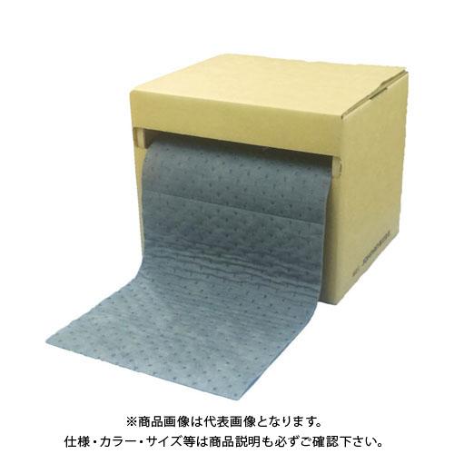 【運賃見積り】【直送品】JOHNAN 吸収材 アブラトール ロール ディスペンサーボックス付き(1巻入) PCAR40