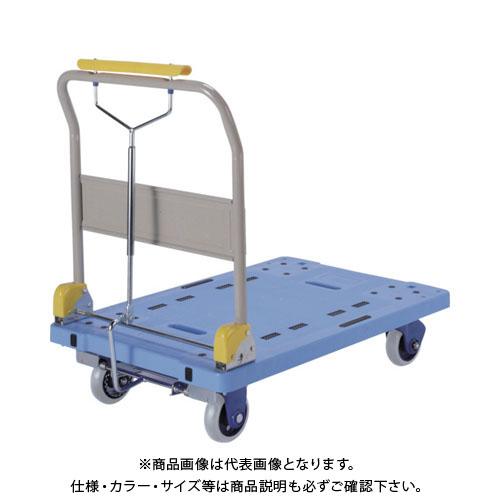 【運賃見積り】【直送品】金沢 環境静音樹脂KSキャリー PHB-300GS