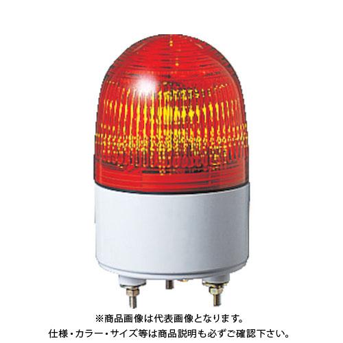 パトライト 小型LED表示灯 PES-24A-R