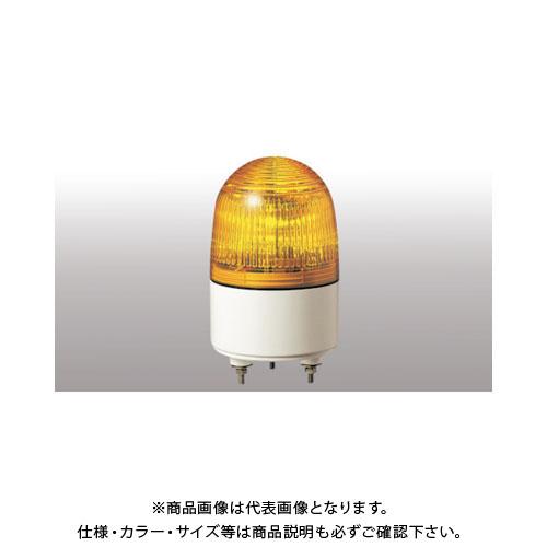 パトライト 小型LED表示灯 PES-24A-Y