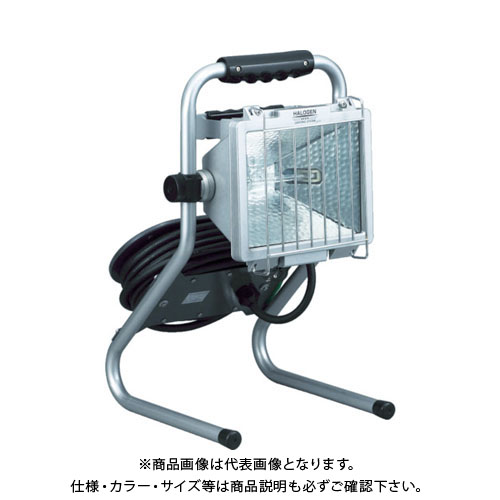 ハタヤ 防雨型ドラムスタンドハロゲンライト 500W 100V電線7m PHD-507N