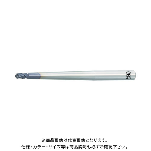 OSG 超硬エンドミル フェニックス(ペンシルネックボール) 3096064 PHX-PC-DBT-R5X2X9 2.9
