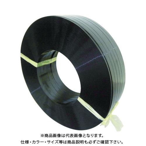 積水 ポリエステルバンド1904×1100M-黒 PET1904M