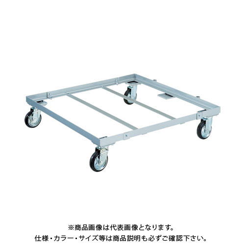 【運賃見積り】【直送品】TRUSCO パレット台車 1200x1000 PLK-05-1210