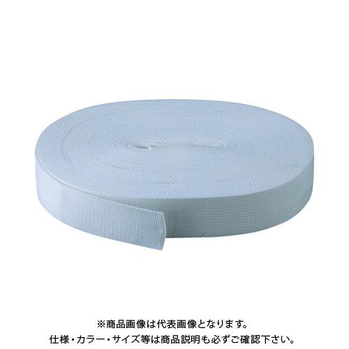 TRUSCO PPベルト幅50mmX長さ50m 白 PPB-5050:W