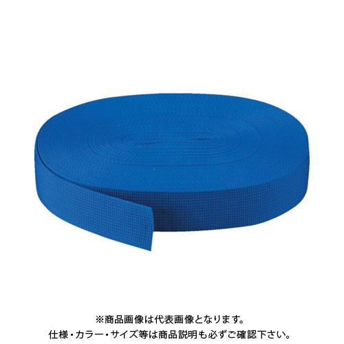 TRUSCO PPベルト幅50mmX長さ50m 青 PPB-5050:B