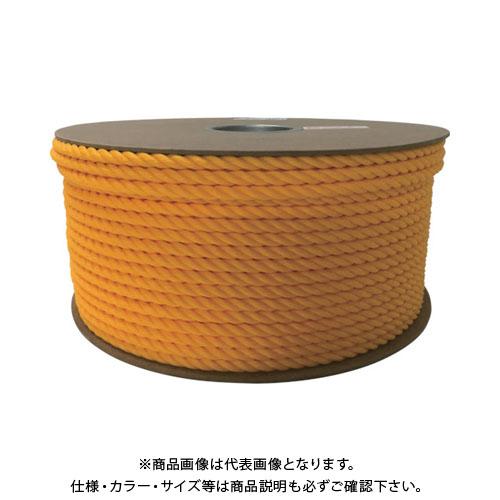 ユタカ ポリエチレンロープドラム巻 9mm×150m イエロー PRE-50
