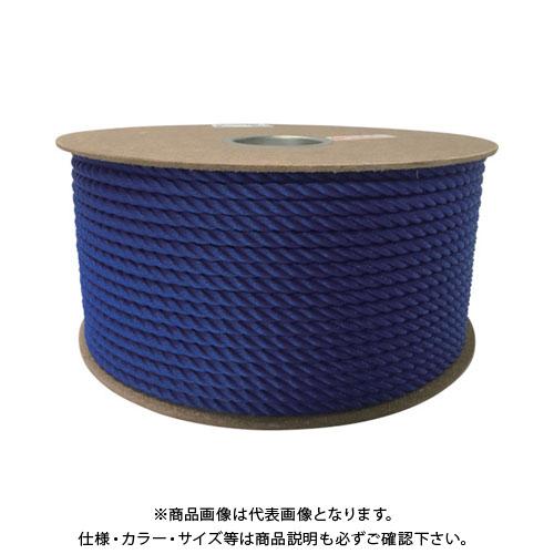 ユタカ ポリエチレンロープドラム巻 9mm×150m ブルー PRE-52