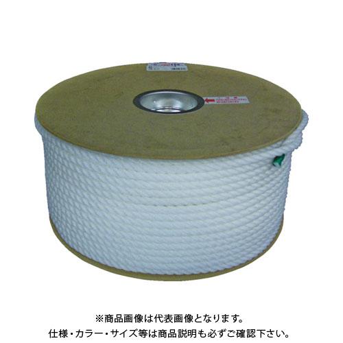 ユタカ ポリエチレンロープドラム巻 9mm×150m ホワイト PRE-57