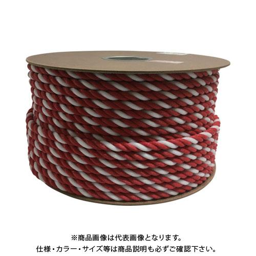 ユタカ ポリエチレンロープドラム巻 12mm×100m コウハク PRE-65