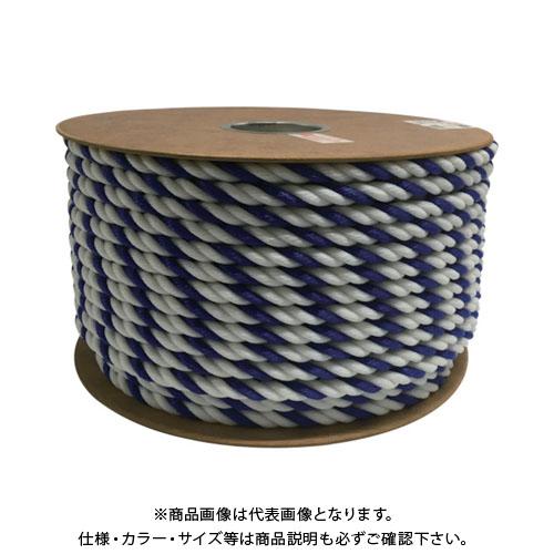 ユタカ ポリエチレンロープドラム巻 12mm×100m コンシロ PRE-66
