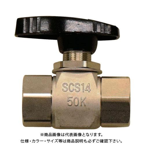 フジキン SUS製4.90MPaパネルマウント式ボール弁 PUBV-15B