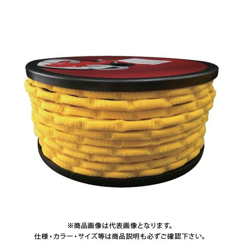 ユタカ ゴム スパイダーゴム ドラム巻き 40m イエロー PST-16