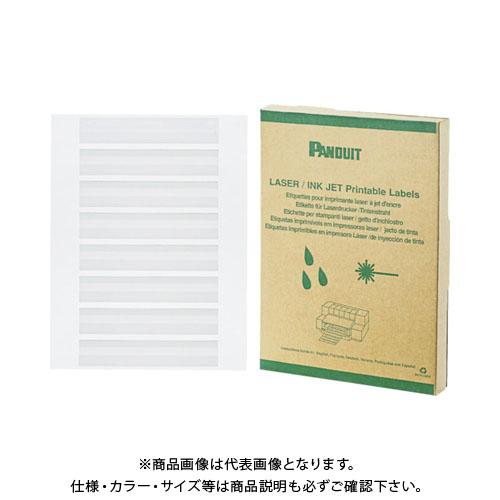 パンドウイット レーザープリンタ用回転ラベル 白 (5000本入) R050X075X1J