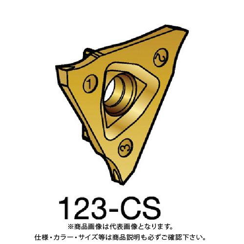 サンドビック コロカット2 突切り・溝入れチップ 1125 COAT 10個 R123F2-0250-1501-CS:1125